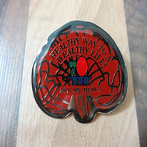 Ganoderma Badge (5cm x 4cm)